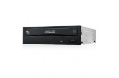 Asus DRW-24D5MT Internal, Interface SATA, DVD RW, CD read speed 48 x, CD write speed 48 x, Black