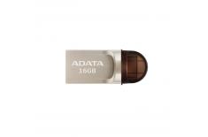 ADATA UC370 16 GB, USB 3.1/USB 2.0/USB-C, Metal