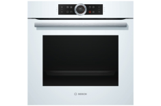 Bosch HBG632BW1S Multifunctional, 71 L, White, activeClean, Rotary switch, Height 59.5 cm, Width 59.5 cm, Integrated timer