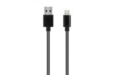 Acme CB1031 Lightning, USB A, 1 m, Black