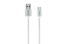 Acme CB2041S cable USB, Type-C, 1 m, Silver