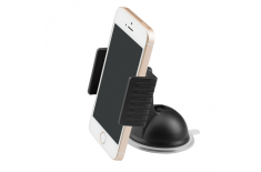 Acme PM2204 Black, Adjustable, 360 , Clamp dash smartphone car mount, Installation: windshield/dashboard, Mount dimensions: 90 (