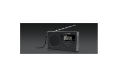 Muse M-089 R Black, Alarm function, 4-band PLL Portable Radio