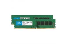 Crucial 16 Kit (8GBx2) GB, DDR4, 2666 MHz, PC/server, Registered No, ECC No
