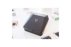 Fujifilm Instax SHARE SP-3 printer + Instax Square glossy (10pl) 3-color exposure with OLED, Mobile Printer, Wi-Fi, Black