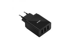 Acme 3-ports USB Wall charger, AC 100 240 V, 3.4A
