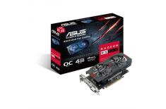 Asus AMD, 4 GB, Radeon RX 560, GDDR5, Processor frequency 1197 MHz, DVI-D ports quantity 1, HDMI ports quantity 1, PCI Express 3
