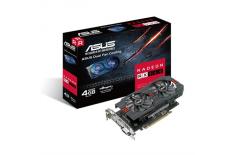 Asus AMD, 4 GB, Radeon RX 560, GDDR5, Processor frequency 1149 MHz, DVI-D ports quantity 1, HDMI ports quantity 1, PCI Express 3