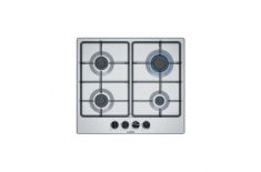 Bosch Hob PGP6B5B60 Gas, Number of burners/cooking zones 4, Stainless steel,