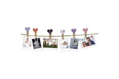 Fujifilm Instax design clips Hearts