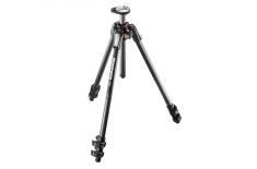 Manfrotto 190 Carbon Fibre 3-Section camera tripod 61 cm, 160 cm, 7 kg, Number of legs 3
