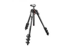 Manfrotto 190 Carbon Fibre 4-Section camera tripod 52.5 cm, 160 cm, 7 kg, Number of legs 3