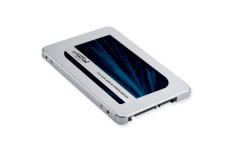 Crucial MX500 500 GB, SSD interface SATA, Write speed 510 MB/s, Read speed 560 MB/s