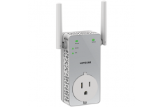 Netgear EX3800-100PES WiFi Range Extender AC750 with pass-thru Wi-Fi, 802.11a/b/g/n/ac, 2.4 and 5 GHz, 750 Mbit/s
