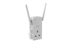 Netgear EX6130-100PES WiFi Range Extender AC1200 with pass-thru Wi-Fi, 802.11 a/b/g/n/ac, 2.4 and 5 GHz, 1200 Mbit/s
