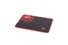 Gembird MP-GAMEPRO-M Gaming mouse pad PRO, Large Black/Red, 400 x 450 x 3 mm