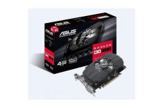 Asus AMD, 4 GB, Radeon RX 550, GDDR5, PCI Express 3.0, Processor frequency 1071 MHz, DVI-D ports quantity 1, HDMI ports quantity
