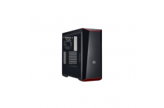 Cooler Master MasterBox Lite 5 Side window, USB 3.0 x 2, Mic x1, Spk x1, Black, ATX, Power supply included No