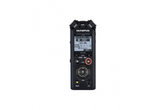 Olympus LS-P4 black Linear PCM Recorder incl. Rechargeable Ni-MH battery and Tripod attachment adapter Olympus