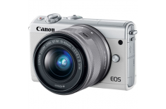 Canon EOS M100 BK M15-45 S + IRISTA EU18 Mirrorless Camera Kit, 24.2 MP, ISO 25600, Display diagonal 3.0
