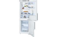 Bosch Refrigerator KGE36BW30 Free standing, Combi, Height 186 cm, A++, Fridge net capacity 214 L, Freezer net capacity 88 L, 38