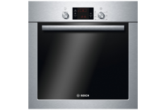 Bosch Oven HBA241350S Built-in, 66 L, Stainless steel, Eco Clean, A, Push pull, Height 60 cm, Width 60 cm, Integrated timer, Ele