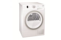 Gorenje Dryer machine D85F65T Heat pump, Condensation, 8 kg, Energy efficiency class A++, Number of programs 12, White, Depth 65