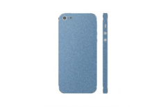 3MK Ferya SkinCase Back cover, Apple, iPhone 5S, Protective foil, Frosty Blue