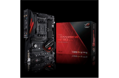 Asus ROG Crosshair VII Hero (Wi-Fi) Processor family AMD, Processor socket AM4, DDR4, Memory slots 4, Chipset AMD X, ATX