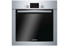 Bosch Oven HBA23S350S Built-in, 66 L, Stainless steel, Eco Clean, A, Push pull, Height 60 cm, Width 60 cm, Electric