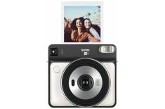 Fujifilm Instax Square SQ6 Instant Camera + Square glossy (10pl) Peral white