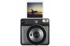 Fujifilm Instax Square SQ6 Instant Camera + Square glossy (10pl) Graphite gray
