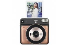 Fujifilm Instax Square SQ6 Instant Camera + Square glossy (10pl) Blush gold